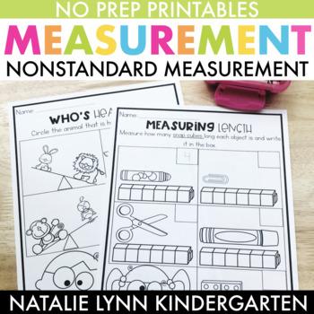 Nonstandard Measurement Worksheets