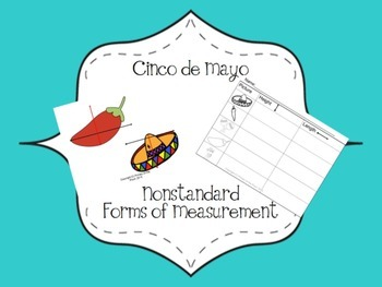 Cinco de Mayo Measurement Math Center or Activity