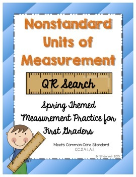 Nonstandard Units of Measurement QR Code Search