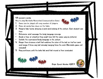 Nonverbal Communication: Acrobats Game Companion