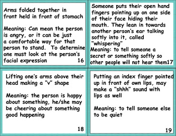 Nonverbal Communication - Understanding the meaning and what others are thinking