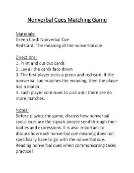 social cues meaning