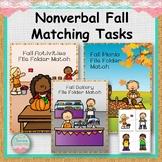 Nonverbal Fall Matching Tasks