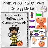 Nonverbal Halloween Candy Matching