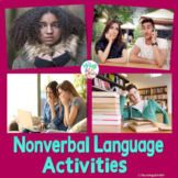 Social Skills for Teens Non Verbal Language Activities {Real Photos and No Prep}