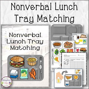 Nonverbal Lunch Tray Matching