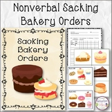 Nonverbal Sacking Bakery Orders