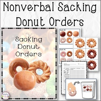 Nonverbal Sacking Donut Orders