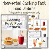 Nonverbal Sacking Fast Food Orders