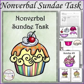 Nonverbal Sundae Binder Task