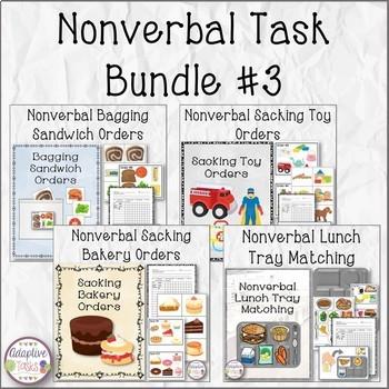 Nonverbal Task Bundle #3