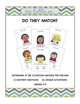 Nonverbal Language Activity - Do They Match?