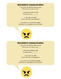 Nonviolent Communication Script