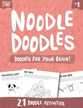 Noodle Doodles #1 – Doodles for Your Brain!