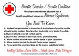 Noonan Syndrome health information card JPG