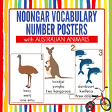 Noongar Number Posters with Australian Animals. Great NAID