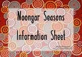 Noongar Seasons Information Sheet