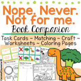 Nope. Never. Not for Me! by Samantha Cotterill Book Companion   ASD and Sensory