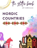 Nordic Countries - 12+ Art Lesson & Resource Bundle - The