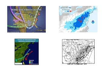 Weather:  Nor'easter's and Snow Forecasting:  Miller A and B Type Snowstorms