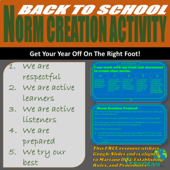 Norm Creation Activity
