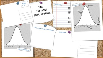 Normal Distribution Graphic Organizer
