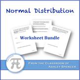 Normal Distribution Worksheet Bundle