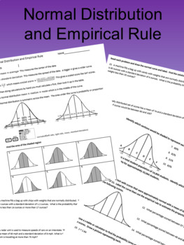 Normal Distribution and Empirical Rule Revised