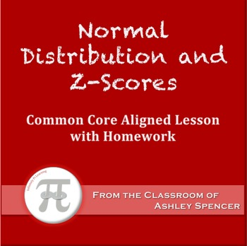 Normal Distribution and Z-Scores (Lesson Plan with Homework)