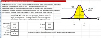 Normal Distributions and Excel