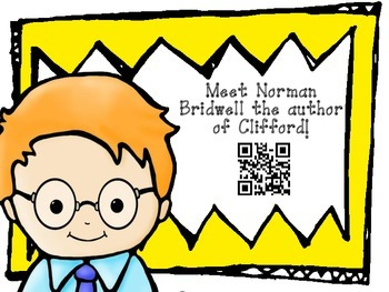 Norman Bridwell QR Readers for Listen to Reading WITH Bonus Pack!