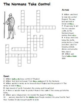 Norman Conquest Crossword Pack