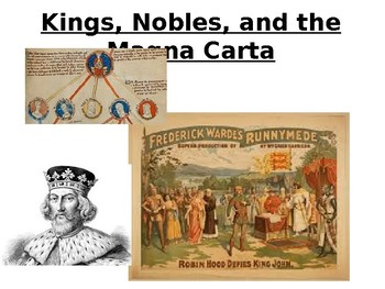 Norman Conquest, kings, nobles and the magna carta
