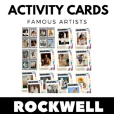 Norman Rockwell - Famous Artist Activity Cards - Art Unit