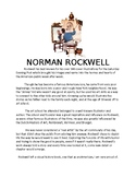 Norman Rockwell Informational Handout