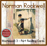 Norman Rockwell - Montessori 3 - Part Art Cards