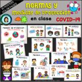 Normas en clase y protección COVID-19 (Spanish) / CLASS RULES