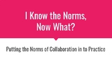 Norms of Collaboration Professional Practice