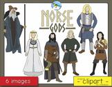 Norse Gods Clip Art