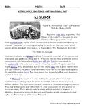 Norse Myth Ragnarok with Sentence Starters