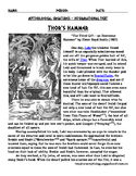 Norse Myth Thor's Hammer with Sentence Starters and KEY
