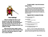 Norse Mythology Booklet