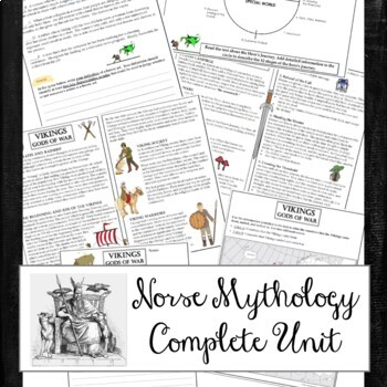 Norse Mythology Unit, Campbell's Hero's Journey,Lord of the Rings, Marvel's Thor