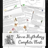 Norse Mythology Unit, Campbell Hero's Journey, Lord of the Rings, Marvel Thor