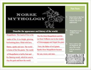 Norse Mythology Worlds Brochure