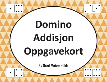 Norsk: Domino Addisjon Oppgavekort
