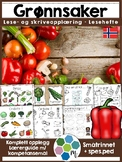 Norsk: Grønnsaker - lese- og skriveopplæring inkl faktabok [BM & NN]
