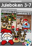 Norsk: Juleboken - SAMLEPAKKE 3-7 - norsk, matte og oppgaver med juletema[BM&NN]