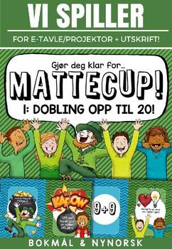 Norsk: Mattecup 1 - Dobling til 20 [Vi spiller-serien] [BM&NN]
