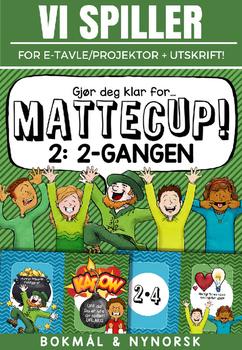 Norsk: Mattecup 2 - 2-gangen [Vi spiller-serien] [BM&NN]